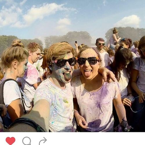 Next year i'm the one of this Festival! Holifestival Colorful Farbfest Volksparkstadion Hamburg
