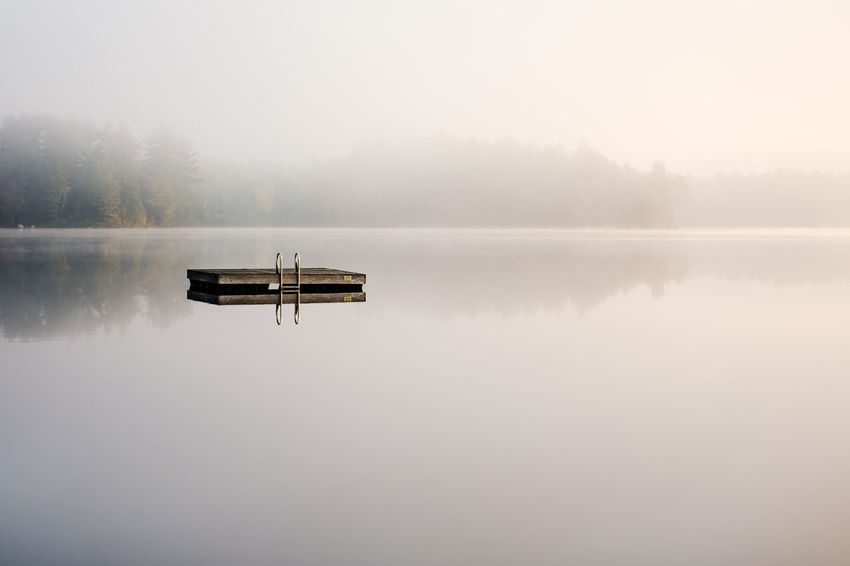 mood morning Morning Beauty In Nature Day Diving Platform Fog Idyllic Lake Landscape Nature No People Outdoors Reflection Scenics Sky Symmetry Tranquil Scene Tranquility Tree Water Weather