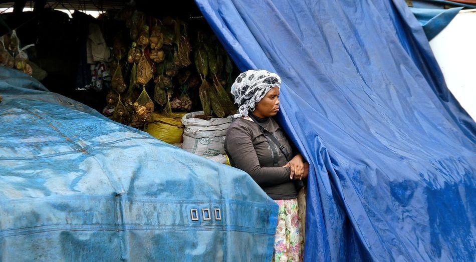 African Woman  Afrikanerin Durban Durban South Africa Lifestyles October 2016 One Person Outdoors People Real People South Africa Südafrika Woman Woman Of EyeEm Woman Portrait Zulu Zulu Nation