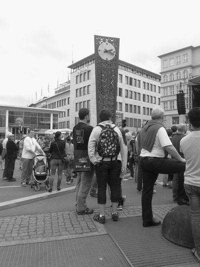 Watching people. Bielefeld germany Walking Around People Watching City Bielefeld
