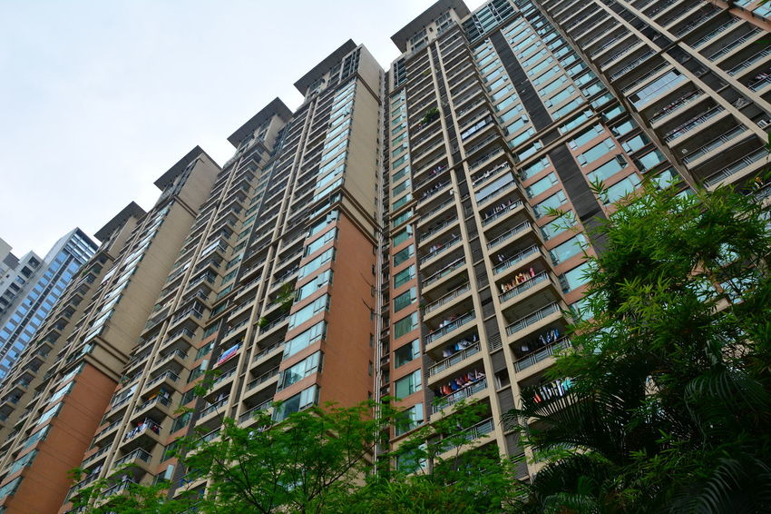 City of Guangzhou Apartments Architecture Architecture_collection Balconies Buildings,style,arquitecture,sky China City City Cityscapes Guangzhou China  Guangzhou,China Guanzhou Modern Office Offices Outdoors Skyscrapers Tower