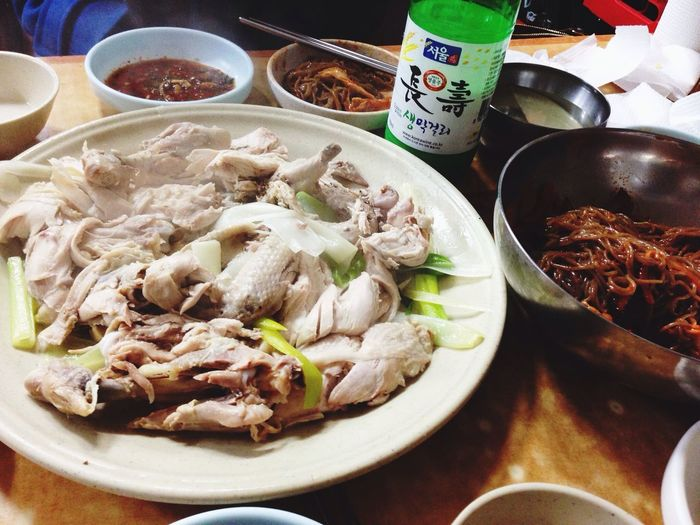 Korean Food Food Chicken