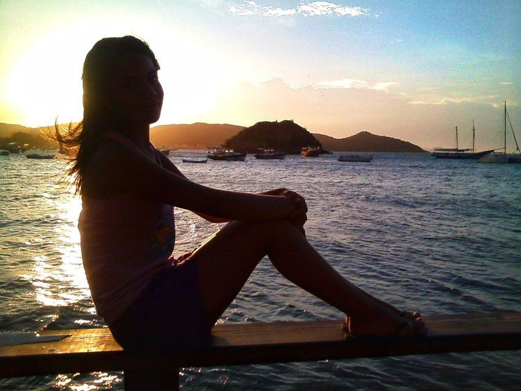 Only Women One Woman Only Adults Only Sunset One Person Adult Water People Young Adult Young Women Tranquility Beach One Young Woman Only Women Lifestyles Sky Beauty Relaxation Nature Standing Be. Ready.