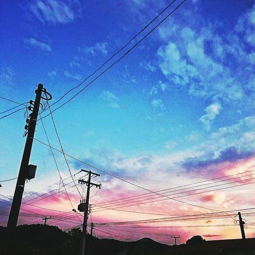 Céu Nuvens Dia Foto