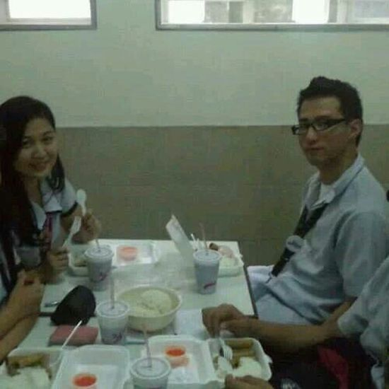 our first proper double date XD but i want to crop the two of us <3 Loveydovey <3