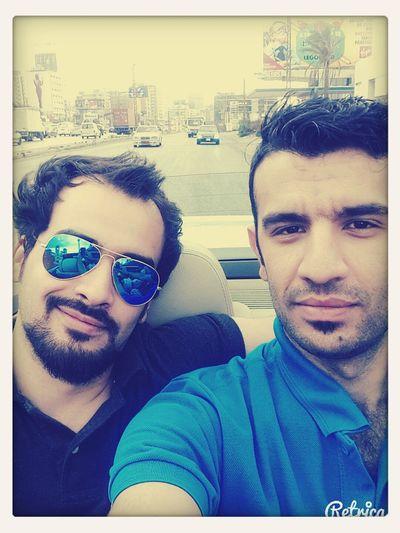 Con mi amigo .. With my best friend .. That's Me
