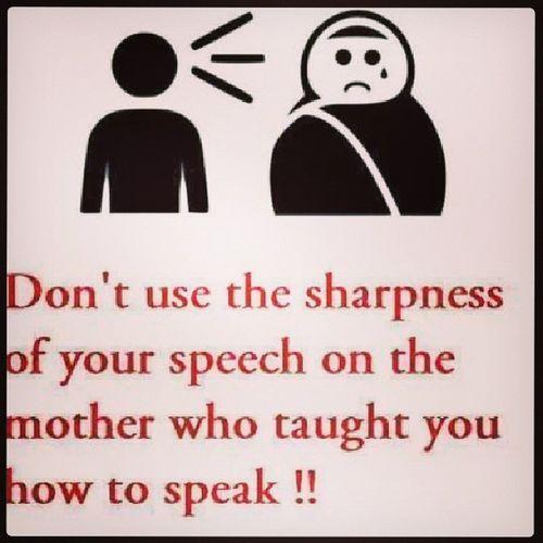 True. Respectyourmother