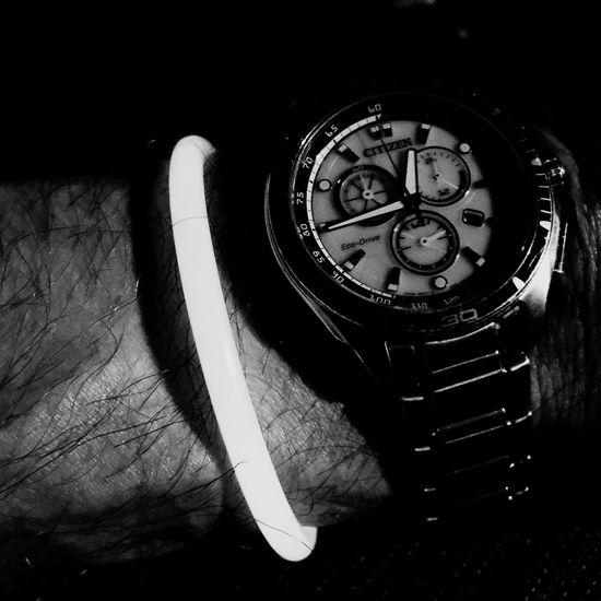 Glow Sticks Citizenwatch Blackandwhite Black And White Timepiece Good Times IPhoneography Random Taking Photos Timepieces