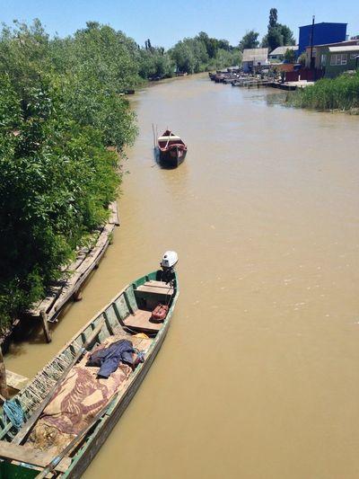 Pollution In My World Ukraine Vilkovo River