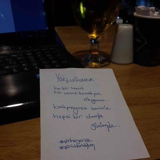 Gününşiiri Yokluğunda ... Siirsokakta şiirinibıraktım şiirheryerde akındursun çakmaktaşı blogger blog airport cakmaktasiblog writing şiiratlası şiir poetry poet poem