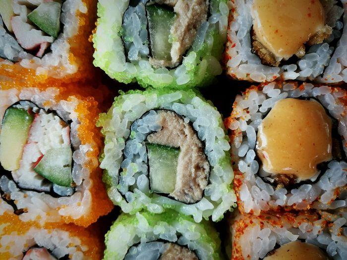 Sushi Food Foodporn Colors Food Photography EyeEm Best Shots Eye4photography  Sushi Rolls Sushiroll Hanging Out Enjoying Life