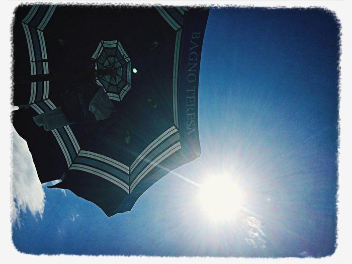 Quella cosa che vedete accanto al l'ombrellone è il Sole Estate 2014 Ischia