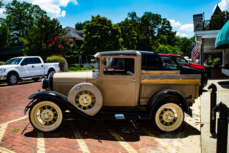 Jefferson, TX Americana Antique Car Ford Truck MeinAutomoment Model A Model T Pickup Truck Truck