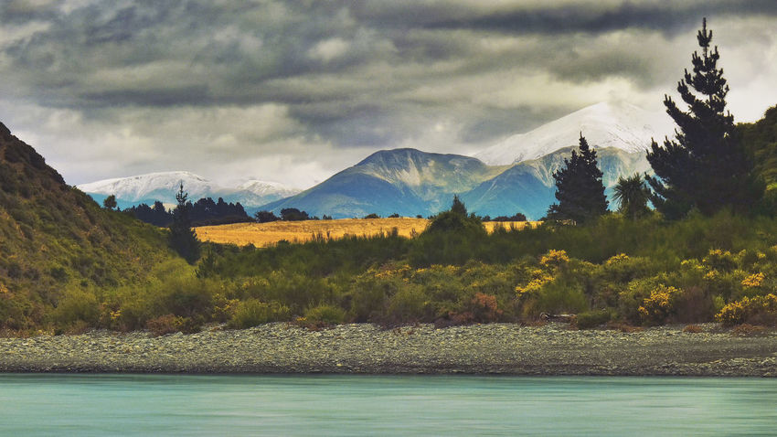 Adventure Camping Clouds Hiking Landscape Mountain Mountain Range Mountains Nature New Zealand New Zealand Beauty New Zealand Landscapes New Zealand Scenery Outdoors Outside River Riverside Scenery Snow Snow ❄ Tourism Travel Traveling Vacation Landscapes With WhiteWall