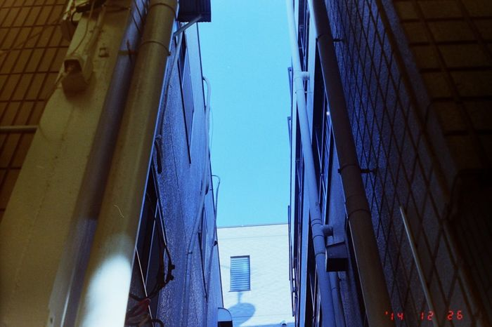 「Urban sky.」 35mm Film Filmcamera Film Olympus Mju Lomography400 Sky Notiphone