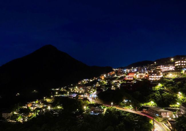 Sparkling at night. Night Mountain Old Town Travel Taiwan Bestoftheday Life Outdoors Village Vintage