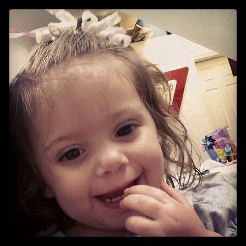 Happy birthday to this little munchkin!! Birthdaygirl Icantbelieveshes2already Lovethiskid Familyforlife