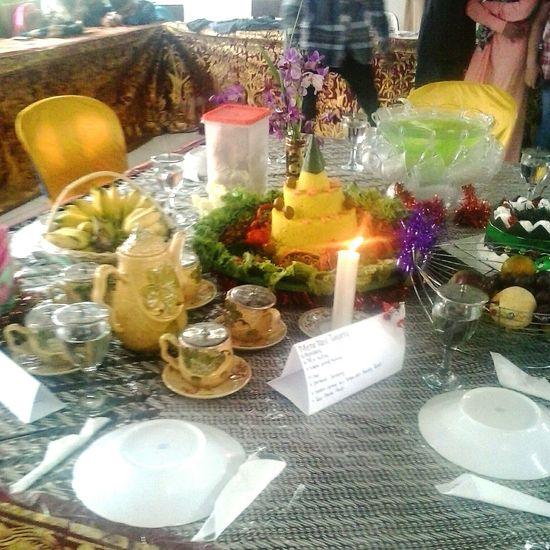 Eid Mubarak Food.. :D Eid Mubarak Mosque Islam Hello World Borneo INDONESIA Idul Adha Food Qurban Enjoy