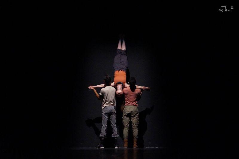 Full Length Studio Shot Black Background Togetherness Human Body Part Men Adult Standing Child People Only Men Young Adult Indoors  Human Hand Day HumanArt Dancer