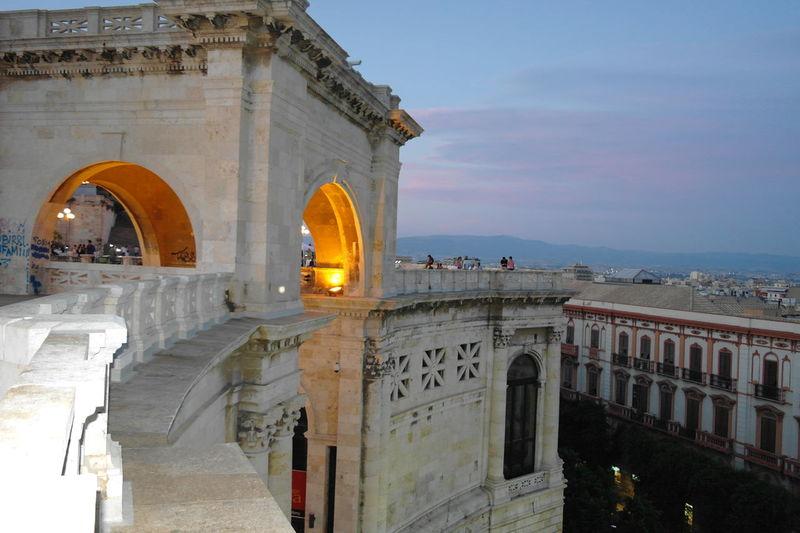 Arch Architecture Bastione Bastionesaintremy Built Structure Cagliari Cagliari, Sardinia City Day No People Outdoors Sky Travel Destinations