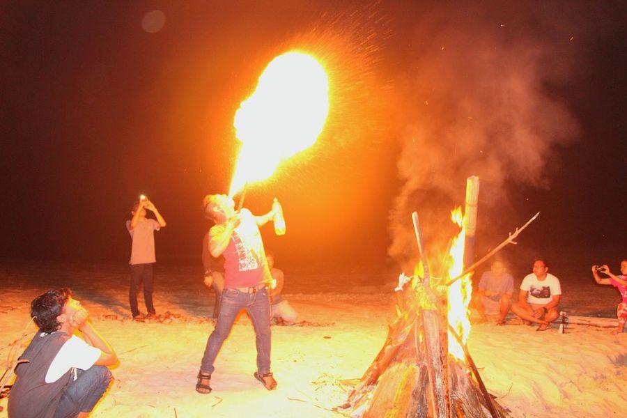 Fire Fireman Night Photography Campfire Enjoying Night EyeEm Gallery EyeEm Indonesia EyeEm Best Shots EyeEmIndonesiaKu Travelensa