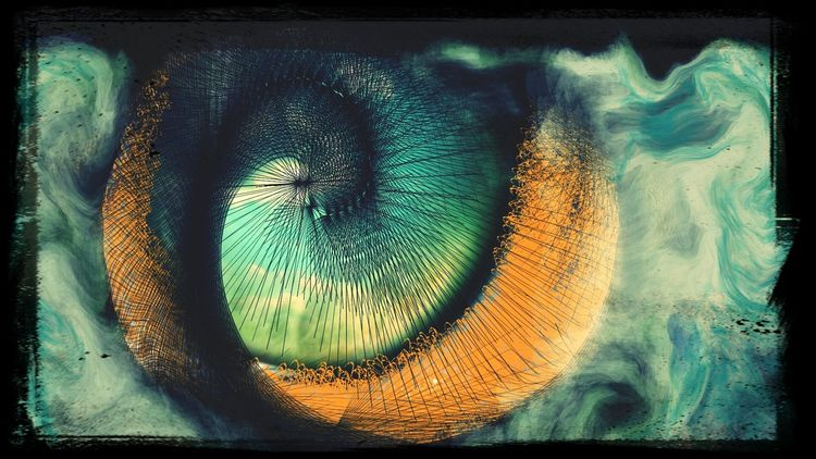 Eye Of The Storm Lost In The Moment Surrealism And Fantasy Art Look Into My Eyes...