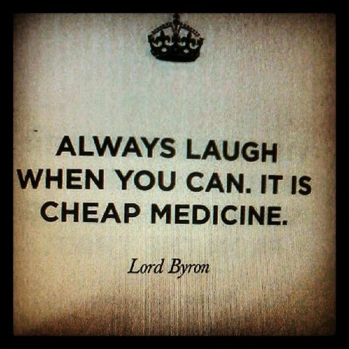 Laughter really is the best medication! Notoriginallymine