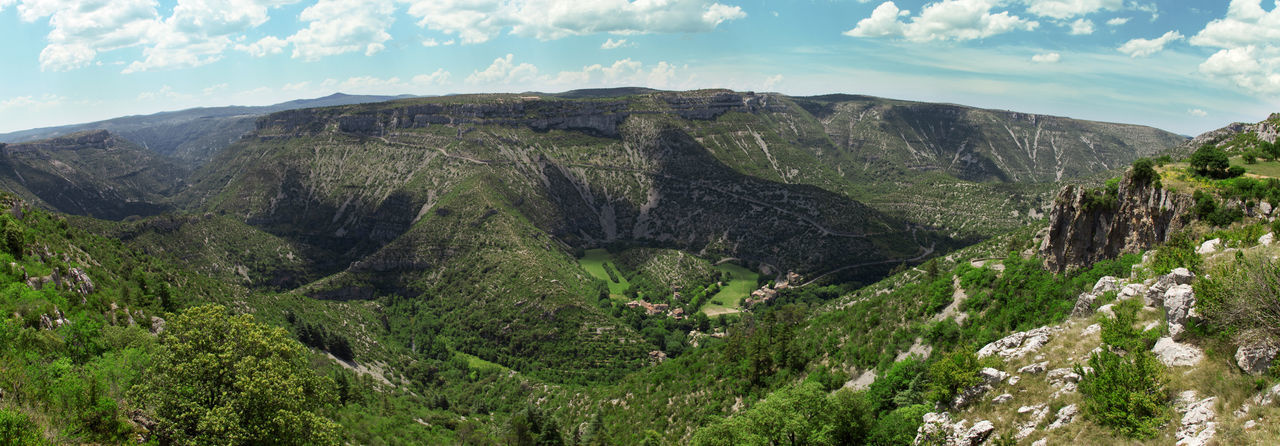 Cirque de Navacelles in Southern France Canyon Cirque De Navacelles Gorge Nature Nature Photography Panorama Ravine Southern France The Great Outdoors - 2016 EyeEm Awards The Great Outdoors With Adobe
