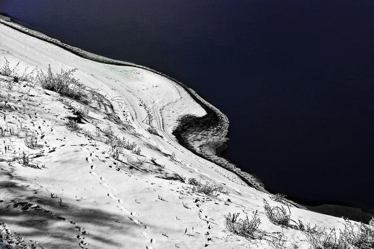 River, Snow