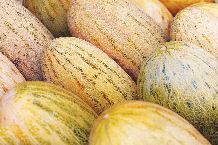 Full frame shot of multi colored fruits in market