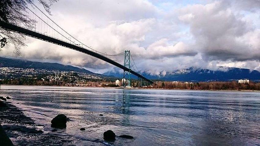 Lions Gate Bridge Vancouver Vancouverbc Vancouverisawesome