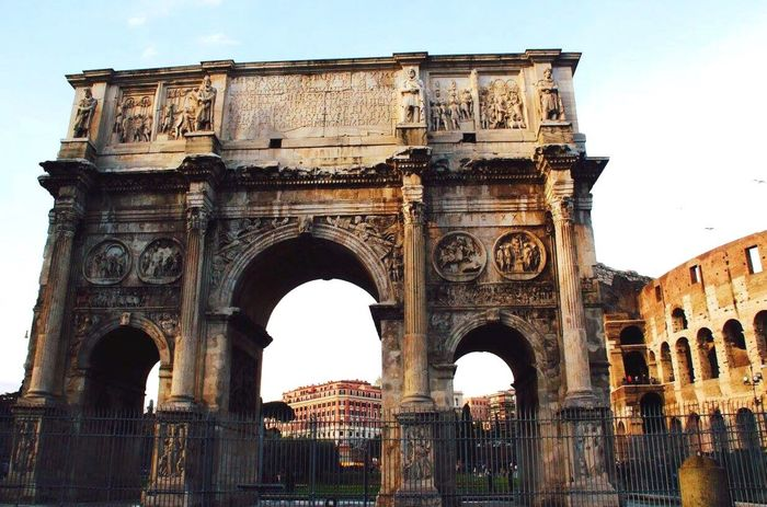 Arch Of Titus Rome Italy The Colosseum, Rome Colosseum Check This Out Taking Photos Travel Photography Travel Destinations Enjoying Life Great View 2016 Architecture Historic Historical Building EyeEm Gallery EyeEm Best Shots Canon