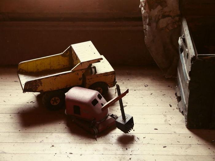 Abandoned House Abandoned Places Old Toys Toys Abandoned Boy Toys Ghost Town Old House Toy Truck Urbanphotography
