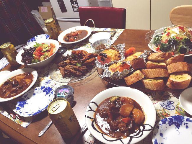 xmas dinner Yummy Enjoying Life Happy Good Times Cristmas Dinner