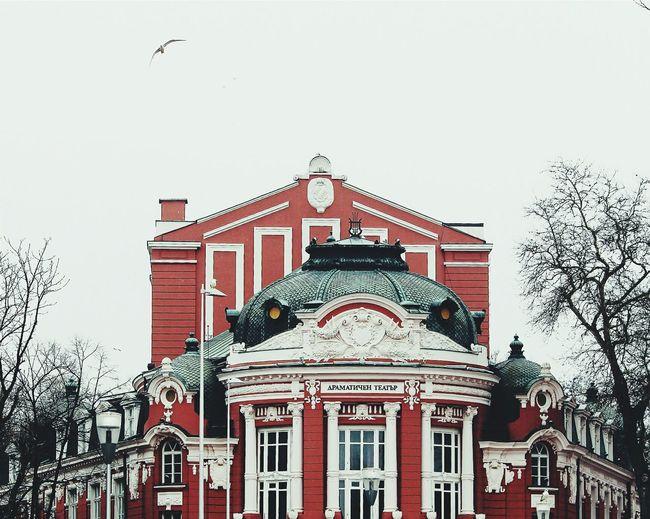 Varna Bulgaria Ophera Theater Building VSCO Vscocam Vscogood Winter Vscodaily Vscofilm