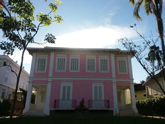 Taking Photos Sunlight Houses Historical Building Petrópolis Rosy Enjoying Life Hidden Gems  Colour Of Life