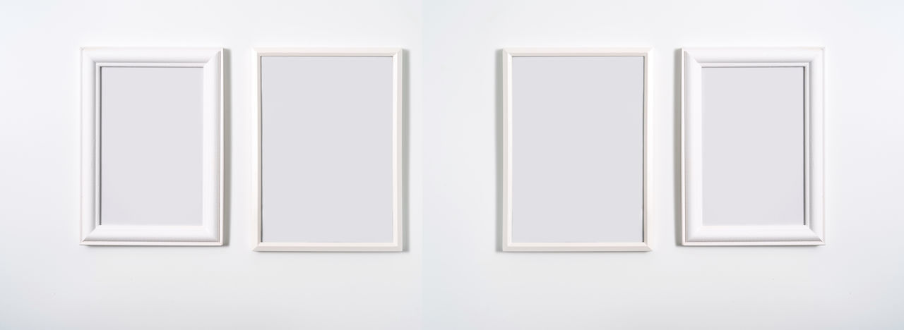 White wall of museum