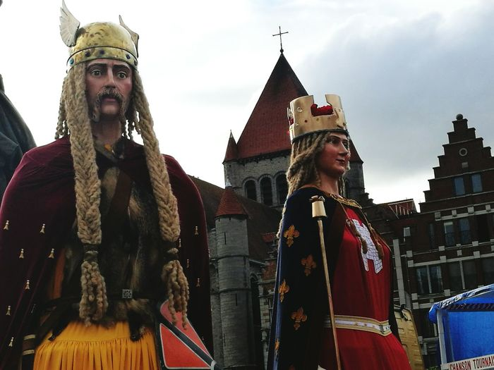 Human Representation Géant Tournai