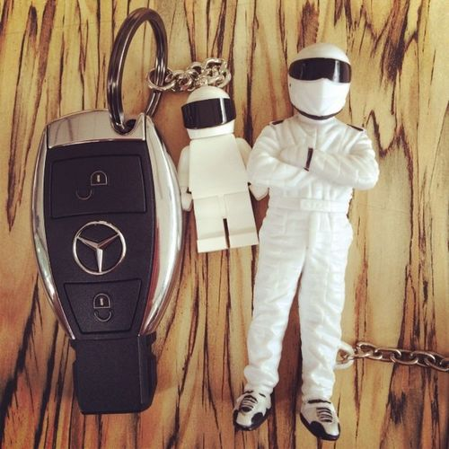 The STIG by LEGO (left side), limited edition only 10,000pcs were produced. Another one is The STIG flashlight, official license products under Top Gear UK...Stig TheStig LEGO Topgear mercedes mercedesbenz a250 sport amg