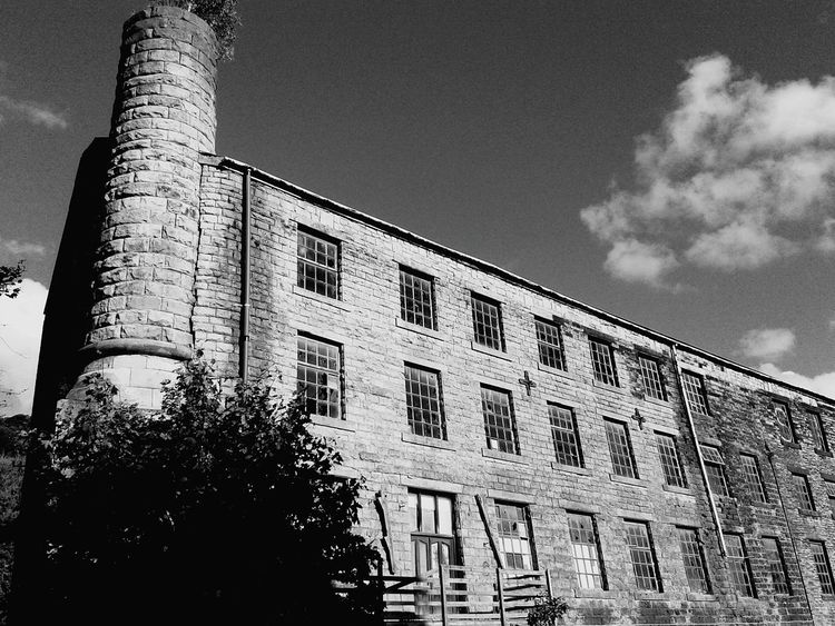 Walkley Clogs Clogs Factory Abandoned Buildings Blackandwhitephotography Mill Haunted Places Nostalgia Stonework Check This Out Windows