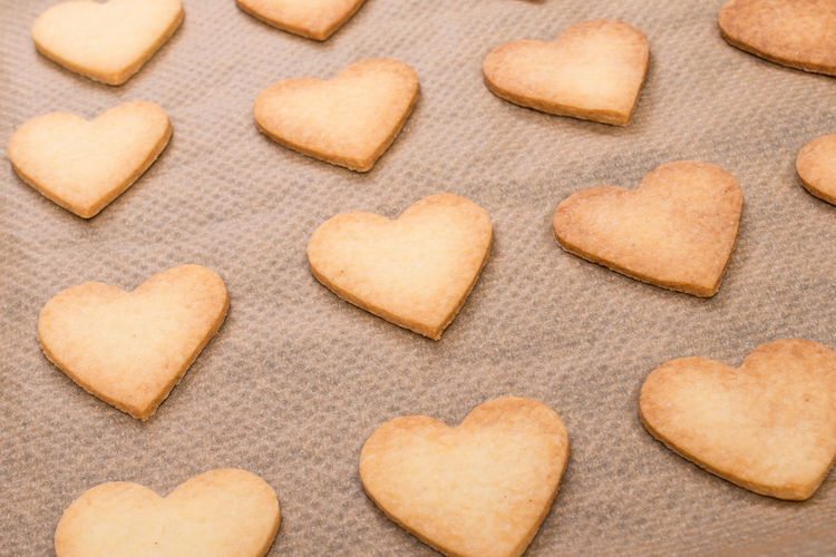 Heart shaped cookies Close-up Cookie Directly Above Food Food And Drink Freshness Full Frame Gourmet Heart Shape Holiday - Event Homemade Indoors  Large Group Of Objects Love No People Pattern Ready-to-eat Shape Snack Studio Shot Sweet Food Temptation Valentine's Day - Holiday