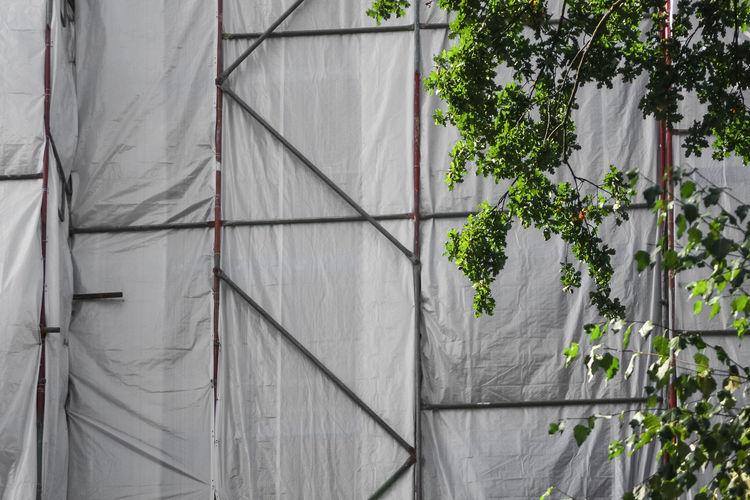 Construction Site Renovation Scaffolding Architecture Building Building Exterior Built Structure Clean Constructing Building Construction Industry Outdoors Renovate Building Restore Restore Building Scaffold Under Construction
