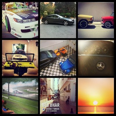 My most popular Instagram images in a collage made using Instafy app