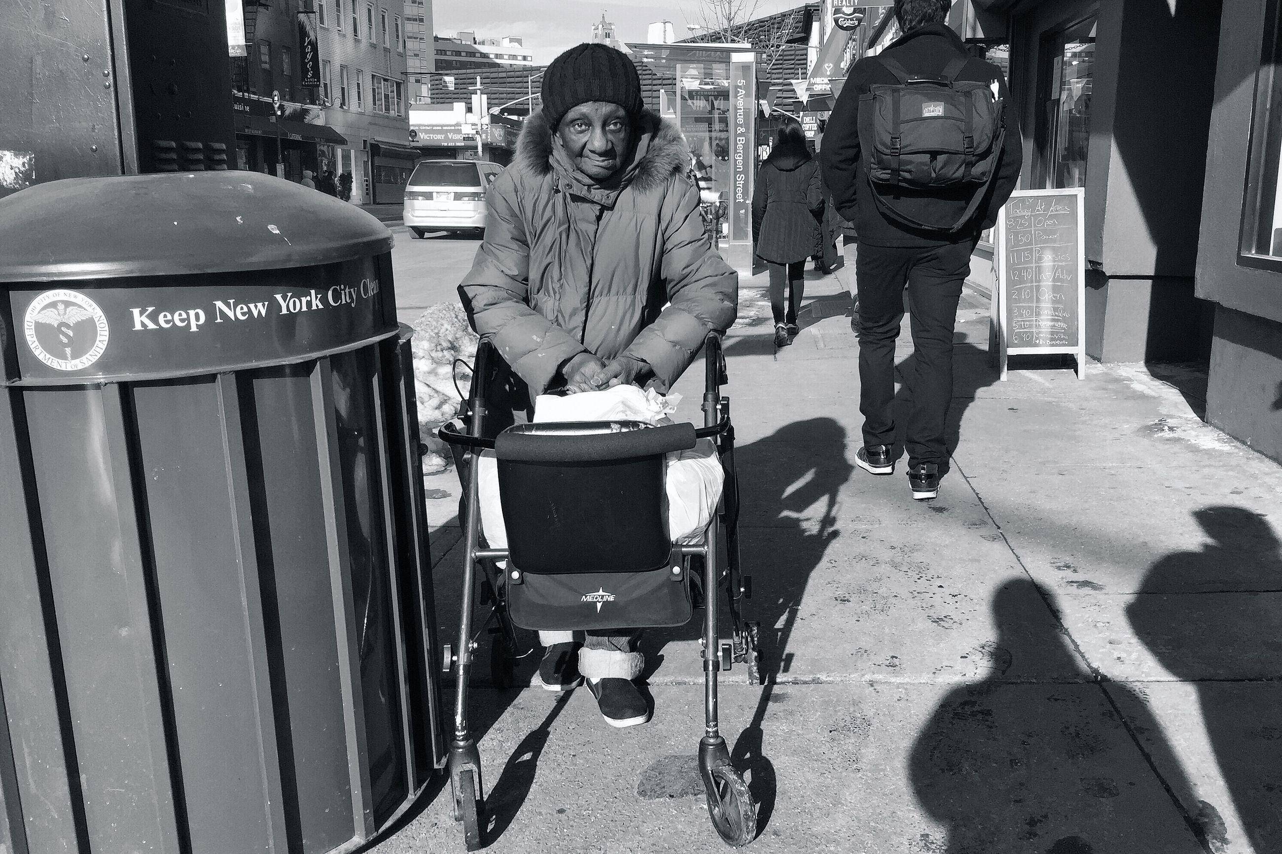 street, men, walking, lifestyles, city, rear view, full length, road, transportation, building exterior, winter, cold temperature, city life, season, leisure activity, car, sidewalk