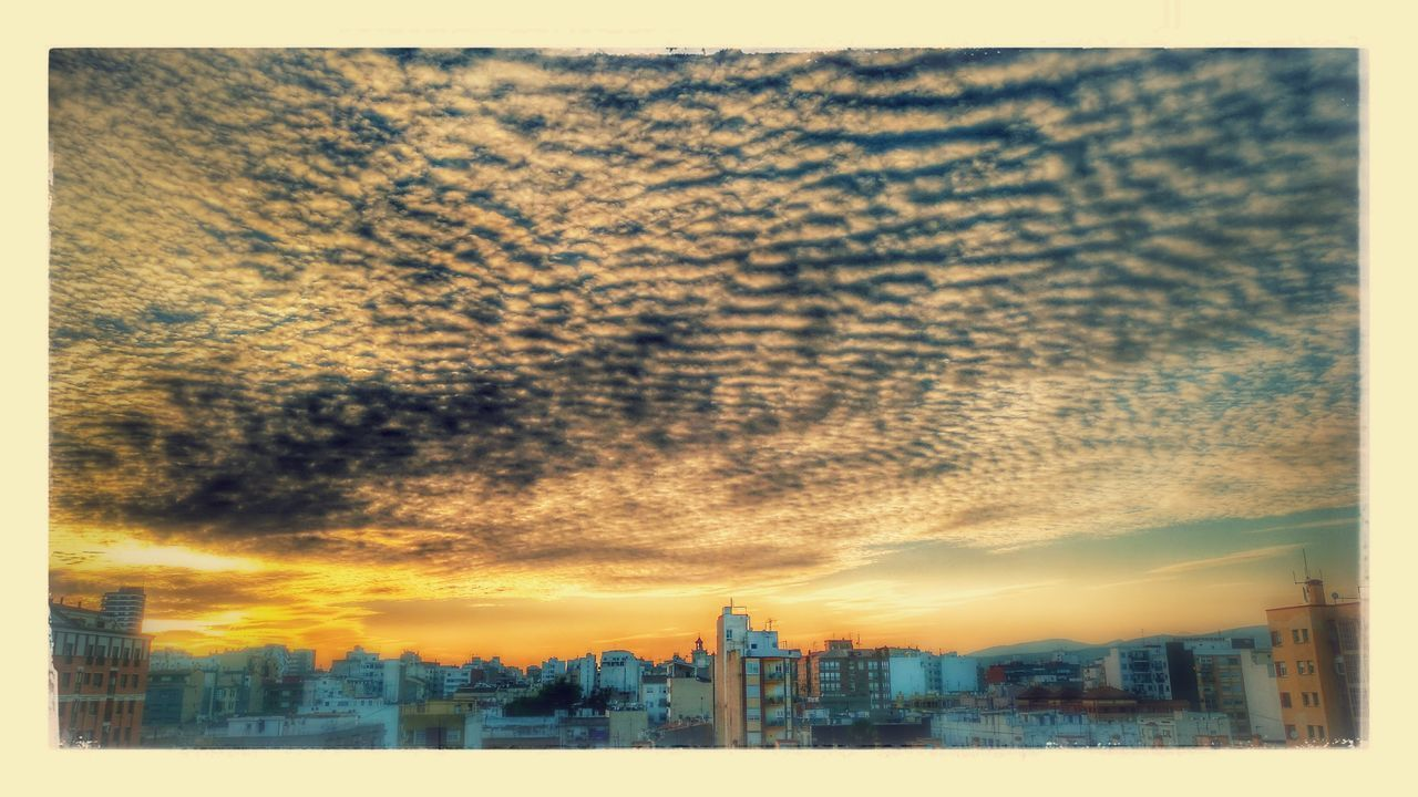 sky, building exterior, architecture, cityscape, built structure, no people, city, skyscraper, outdoors, nature, tree, sunset, day