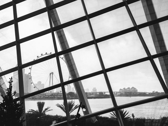 Wohoo.. it's my first post here! Eyeem New Talent First Eyeem Photo New Talents Outdoors Nice view of Singapore Flyer from Garden by the bay ❤️ Architecture Built Structure Sky Blackandwhite Monochrome Building Bridge Singapore Flyer Inside The Building No People Nature Shootermag Tropical Travelling Beautiful Flowers,Plants & Garden Indoor Garden Window Glass No Walls Building Exterior 10