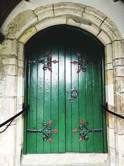 Green Door Ancient Centuries Old Entrance Architecture Archway Check This Out Historical Building Historic