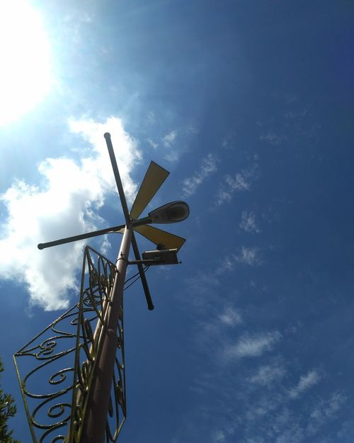 #minimalist #sky EyeEmNewHere Wind Power Wind Turbine Alternative Energy Fuel And Power Generation Renewable Energy Day Sky Cloud - Sky Windmill