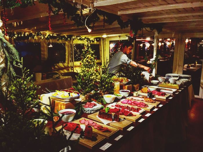 Christmas Buffet Christmastime Christmas Around The World Stockholm, Sweden