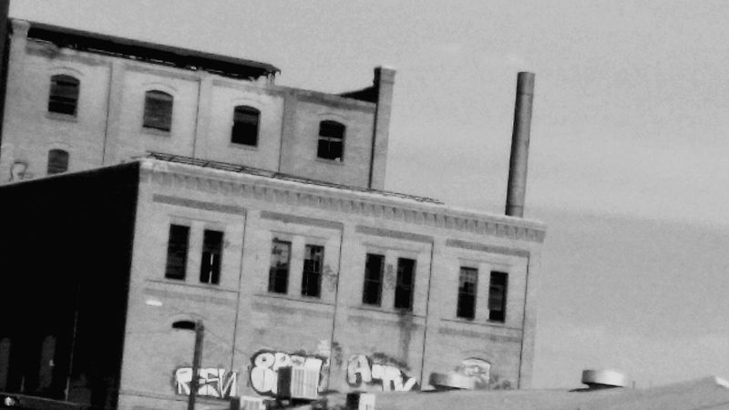 Haunted Urban Tagging Old Buildings Street Photography